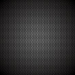 Hexagon metal background - Stock Vector