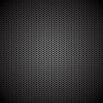 Hexagon metall bakgrund — Stockvektor