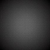Hexagon metal background — Stock Vector
