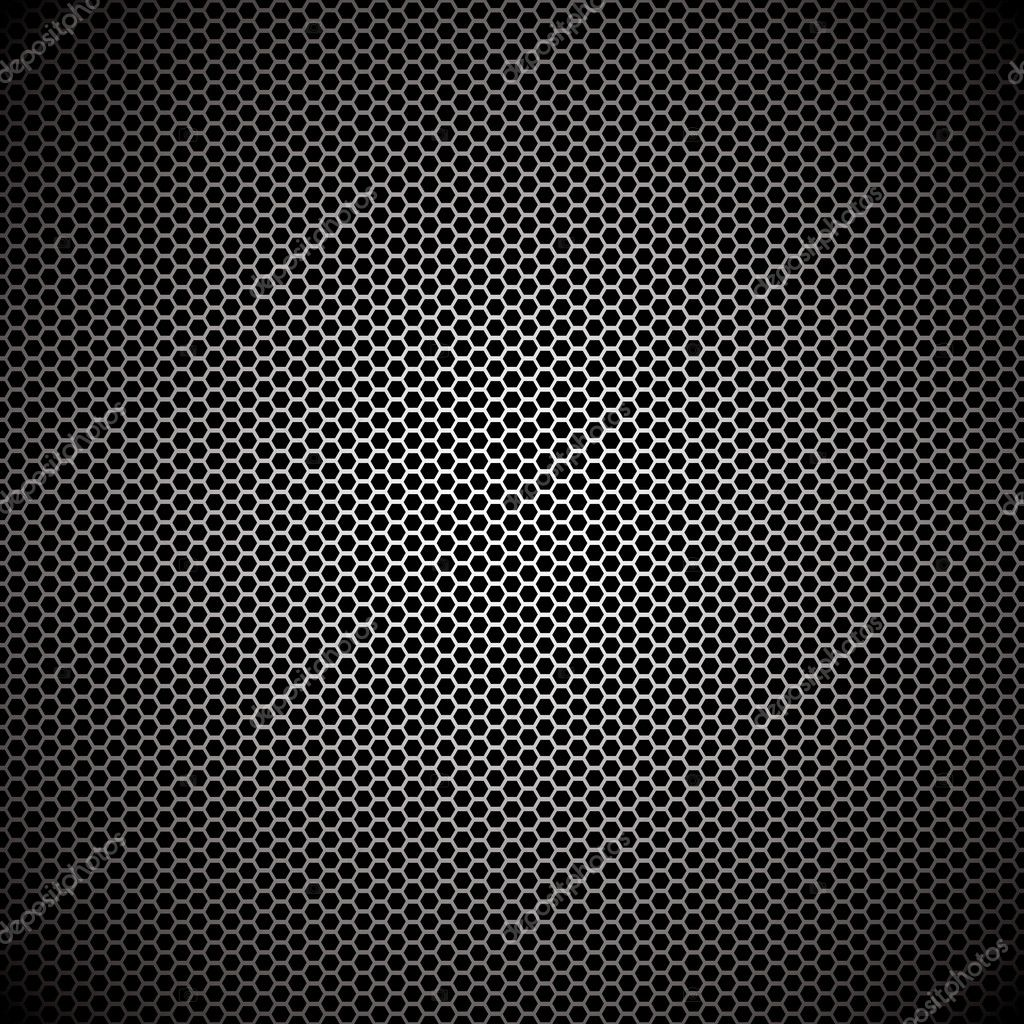 Hexagon metal background with light reflection ideal wallpaper  Stock Vector #3470441