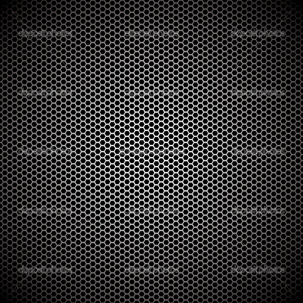 Hexagon metal background with light reflection ideal wallpaper — Imagens vectoriais em stock #3470441