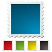 Blank stamp — Stock Vector