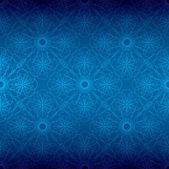 Blauwe bloemen spiraal achtergrond — Stockfoto