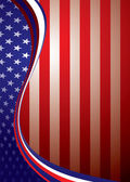 Usa american background template — Stock Photo
