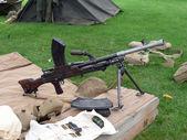 World war two machine gun side view — Stock Photo