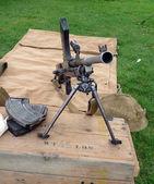 Světové války dva kulomet — Stock fotografie