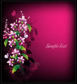 Composizione di fiori — Vettoriale Stock