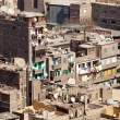 Slum dwellings in Cairo Egypt — Stock Photo