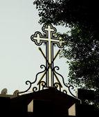 Coptic Christian cross in Cairo — Stock Photo