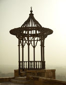 Dusky view over Cairo from the Citadel — Stock Photo