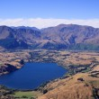 Queenstown and Remarkables range — Stock Photo