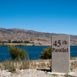 45th parallel in New Zealand — Stock Photo #3022523
