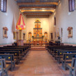 Interior of San Diego Mission — ストック写真
