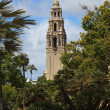 California Tower in Balboa Park — Stock Photo