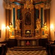 Ornate Catholic Altar — Stock Photo