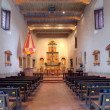 Interior of San Diego Mission — Stock Photo