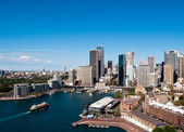 Circular Quay in Sydney — Stock Photo