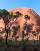 Ayers Rock in Australia — Stock Photo