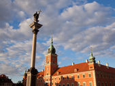 Royal Palace Warsaw — Stock Photo