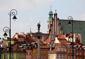 Old Town of Warsaw — Stock Photo