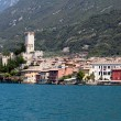 Malcesine on Lake Garda — Stock Photo