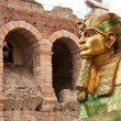 Sphinx in Verona — Stock Photo