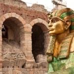 Sphinx in Verona — Stock Photo