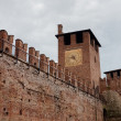 Stock Photo: Castel Vecchio tower