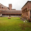 Cloister of San Zeno — Stock Photo