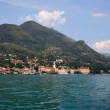 Gardone on Lake Garda - Stock Photo