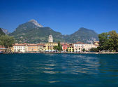 Approaching Riva — Stock Photo