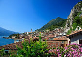 Limone on Lake Garda — Stock Photo