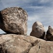Royalty-Free Stock Photo: Three balanced boulders