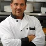 Confident chef — Stock Photo