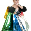 Stock Photo: Shopping spree