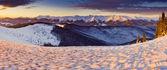 Mattina nelle montagne — Foto Stock