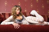 Velmi sexy žena kavkazský. — Stock fotografie