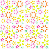 Flower background pattern — Stock Vector