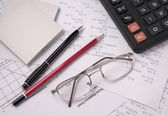 Still Life Accountant — Stockfoto