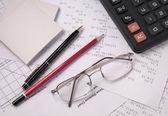 Still Life Accountant — Stock Photo