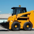 Skid steer loader construction machine — Stock Photo #3065389