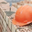 Construction equipment for bricklayer - Stock Photo