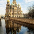 图库照片: Church of Saviour on Spilled Blood, St. Pete