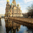 Church of the Saviour on Spilled Blood, St. Pete - 图库照片