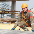 Builder worker at construction site — Stock Photo #3245659