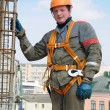 Builder worker at construction site — Stock Photo #3245679