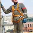 Builder worker at construction site — Stock Photo #3245684