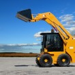 Skid steer loader construction machine — Stock Photo #3246271