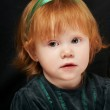 Little red-haired girl baby — Stock Photo #3247059