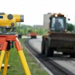 Surveyor equipment level theodolite — Stock Photo